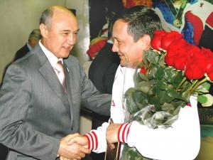 Г.Ф. Афонин и В.Ф. Першин