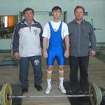 В. Пикуль со своим отцом и тренером