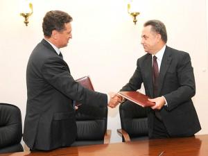Виталий Мутко подписал соглашение о сотрудничестве с главой Ставропольского края