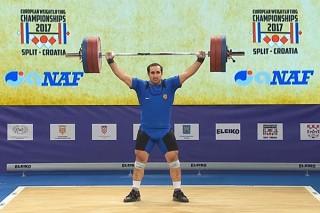 Давид Беджанян на чемпионате Европы