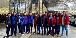 Сборная команда России Чемпионат Европы по тяжелой атлетике-2021 в Москве